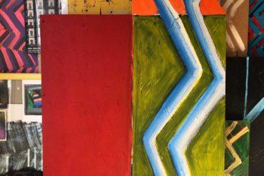 Artwork in studio - Farouk Agoro