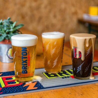 Brixton Brewery pints