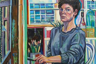 Sarah Jane Moon - Back to life 2020 oil on canvas